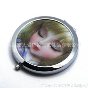 供应3D贴纸化妆镜 广告化妆镜 礼品化妆镜 化妆镜厂家