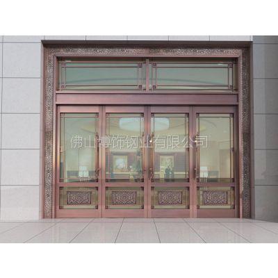 供应江苏201不锈钢门销售价格 不锈钢镀铜门生产厂家 不锈钢门图片
