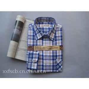 供应纯棉 粗布 男士 长袖 短袖 衬衣