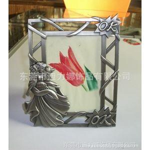 厂家供应金属相框相架 欧美风格相框 合金镶钻相框