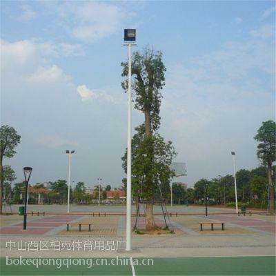 文昌埋地路灯灯柱供应商 海口球场灯杆的配置 镀锌管 抗台风