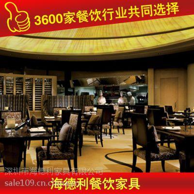 新品促销 时尚桦木饭桌 酒店桌子 厂家生产销售 深圳海德利家具 专业餐饮家具定制