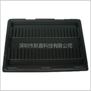 供应供应防静电吸塑托盘 黑色PS吸塑 吸塑加工生产