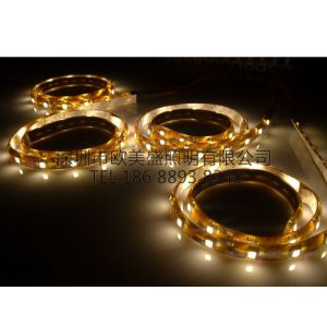 供应贴片3528滴胶防水120灯/米led软灯条,灯带,柔性灯条