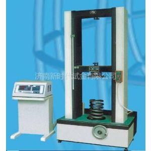 供应济南试金5KN弹簧测试台 TLS型汽车配件弹簧拉压试验机