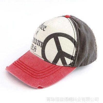 【青岛帽子厂家】简约 春季天运动帽 鸭舌帽 男帽女帽棒球帽子