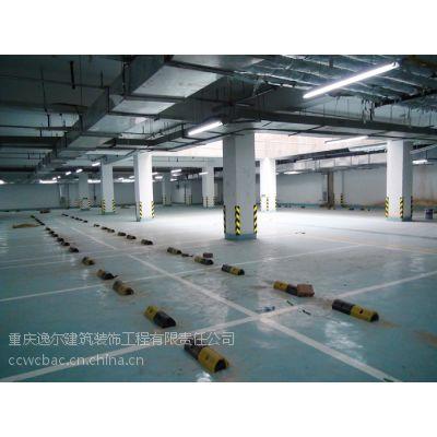 重庆车库划线、大型停车场工程划线及交通安全设施产品