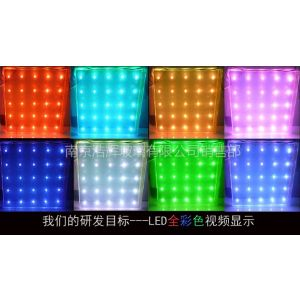 供应LED发光玻璃 智能玻璃 LED三色显示