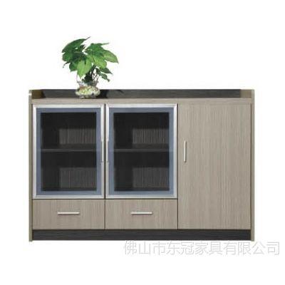 供应厂家直销优质三门木制酒店茶水柜 简约饭店板式备餐台储物柜子