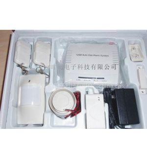 供应GSM短信遥控防盗报警器,报警主机、无线报警器