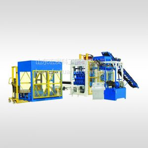 供应山东宏发 QT10-15型砌块成型机 砖机 免烧砖机 水泥砖机