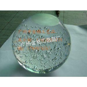 玻璃气泡球/玻璃泡泡球/气泡玻璃球/玻璃球 有无打孔均可