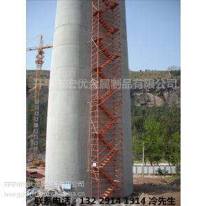 供应Z型高墩桥梁专用安全爬梯