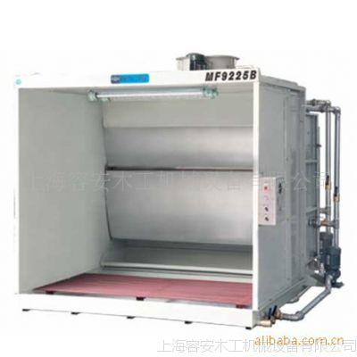上海容安优质水帘机厂家、水帘喷漆台双工位 上海喷油柜 水帘机