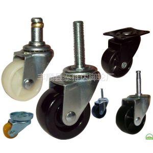 供应2寸轻型插杆式PP脚轮/2寸插杆式橡胶脚轮/1.5寸脚轮/3寸客户定制PP轮/1寸聚氨酯PU小脚轮