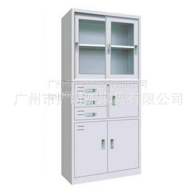 广州文件柜厂家供应铁皮文件柜 办公档案文件柜 大型资料文件柜