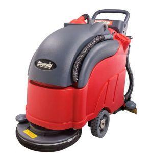 供应手推式半自动洗地机XD18W,芜湖奇瑞汽车用洗地机,工厂用洗地机直销