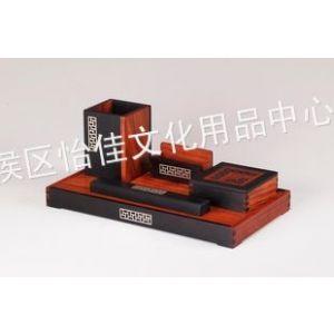供应红木笔筒/红木名片盒 红木办公礼品