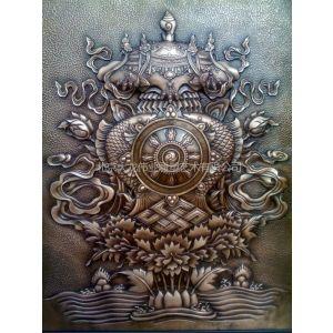 供应北京锻铜浮雕厂加工制作紫铜浮雕壁画
