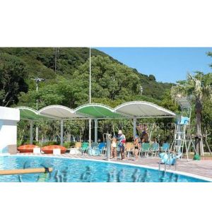 供应梅州 游泳池景观膜结构遮阳设施制作公司