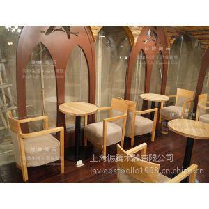 供应上海家具厂定制餐桌椅 上海工厂定制实木餐桌椅 工厂定制餐饮店桌椅