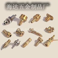 供应铜螺母柱 铜喷嘴 各种异型车件欢迎定制