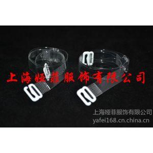 供应TPU透明肩带,隐形肩带,4mm/5mm/6mm透明弹力带,透明挂衣带