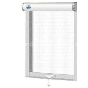 意美达牌上下卷帘可调型防蚊隐形纱窗