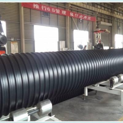 宿州pe钢带波纹管厂家,钢带增强波纹管hdpe缠绕增强管