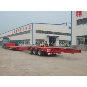 供应17.5米大板车 抽拉低平板 风叶运输车