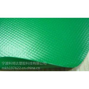 供应无毒耐老化绿色pvc充气面料厂家