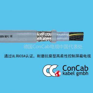 供应拖链电缆PUR-C-576屏蔽型_耐磨抗腐高柔性拖链电缆_通过UL/CSA认证