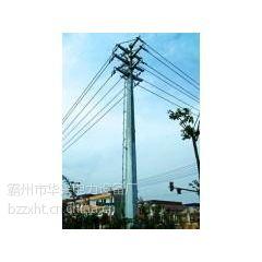 供应山西10KV\\输电线路钢杆、钢桩基础、打桩施工厂家