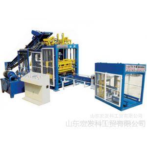 供应QT8-15B液压全自动 砌块成型机  免烧砖机 山东 宏发牌砖机