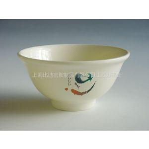 供应昆山厂家直销密胺粥碗 豆浆碗 不易摔坏的碗  便于洗涤