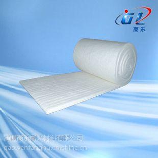 供应硅酸铝纤维形加热炉用陶瓷纤维毯