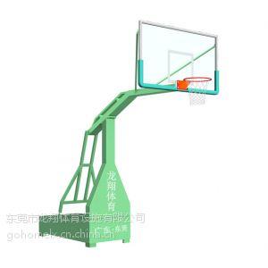 供应东莞市高档凹箱式移动篮球架LX-003