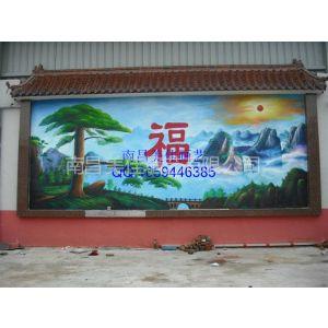 江西樟树 高安 新余 南昌 鹰潭 景德镇围墙及文化墙彩绘手绘
