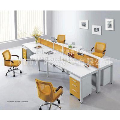 广州广时杰办公家具 屏风卡位电脑桌 职员办公桌 工作位 可定做