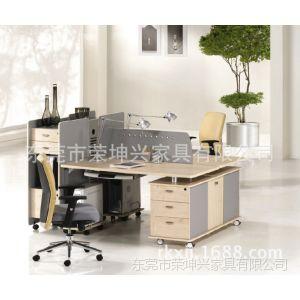 供应简约现代款可定制板木结合办公桌 电脑台 职员桌  办公卡位