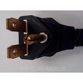 供应SJOW SJO SJT-R HSJO SJEOW橡胶线 UL插头 20A 30A美规插头