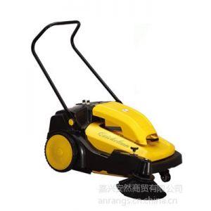 供应工厂车间道路清扫用扫地车,驰洁手推式电瓶扫地机CJS70-1