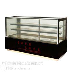 安德利厂家 供应45度角直角蛋糕柜 弧形蛋糕柜 定做西点柜批发