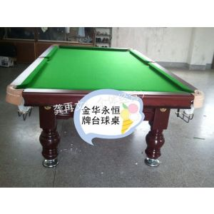 供应广西防城港市台球桌 厂家直销 国际标准比赛台 美式黑八台球桌(抢购价)