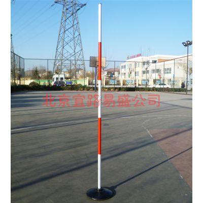 供应中考篮球运球绕杆足球绕杆体育标志杆带底座驾驶员练车杆