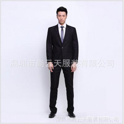 2014新款韩版西服 西装 定做男士西服 职业西服 上海西服定做