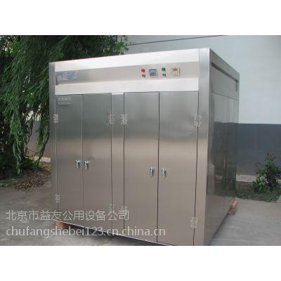 供应北京中央厨房设备 优质不锈钢热风循环消毒柜厂家