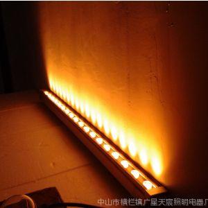 供应led18w洗墙灯金黄光