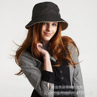 青岛的盆帽生产厂家恒益得供应定做太阳帽盆帽户外运动遮阳帽