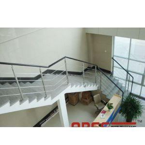生产不锈钢拉杆栏杆 拉丝不锈钢栏杆 办公楼护栏 室内栏杆 不锈钢立柱 扶手